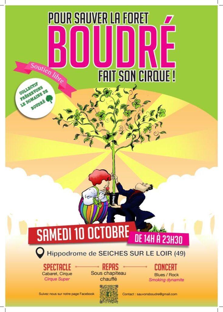 Flyer cirque Boudré 2015
