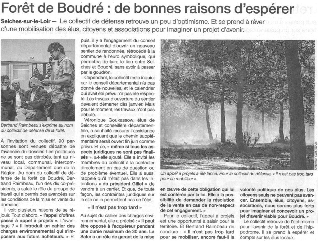 Ouest France du 01 juin 2016