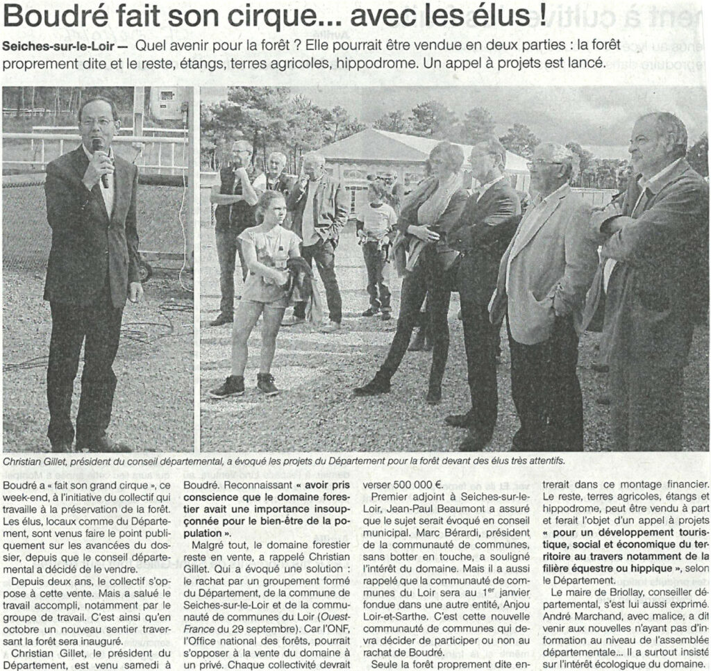Ouest France du 04 octobre 2016